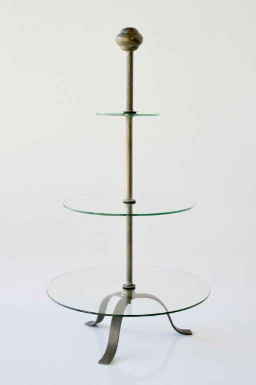 White  Tier Metal Cake Stand